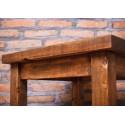 Stolik kawowy ze starego drewna ręcznie rżniętego