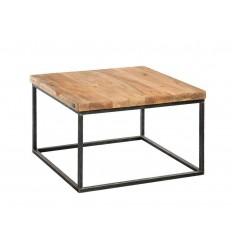 Industrialny-stolik-ze-starego-drewna-na-profilach-z odzysku
