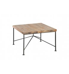 Industrialny-stolik-ze-starego-drewna-pręt-zbrojeniowy-z-odzysku