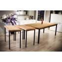 Industrialny stół ze starego drewna no.215