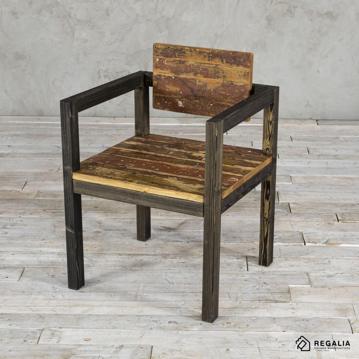 Krzesło ze starego drewna NO. 398