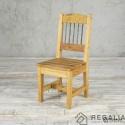 Krzesło ze starego drewna No.404 - deska podłogowa