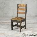 Krzesło ze starego drewna No. 405 - stare deski